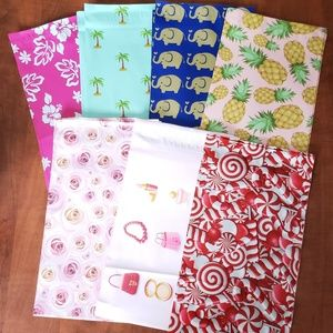 Other - 40 PICK YOUR OWN DESIGN 6X9 POLYMAILERS